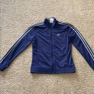 Deep purple Adidas track jacket